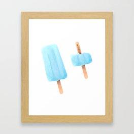 Sea Salt Ice Cream Framed Art Print