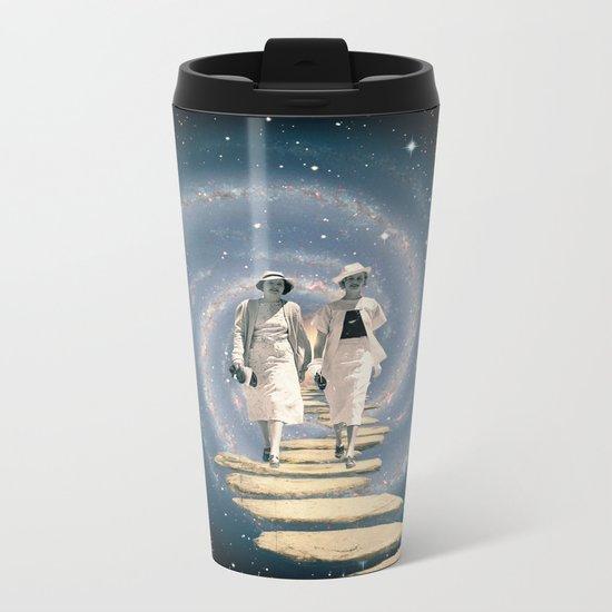 Leaving the Milky Way Metal Travel Mug