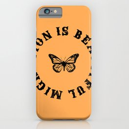 Migration is Beautiful iPhone Case