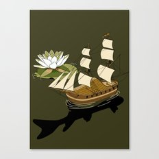 The Wandering dutch. Canvas Print