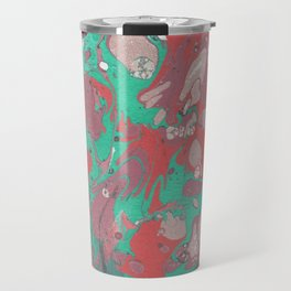 Red & Green Painting Travel Mug