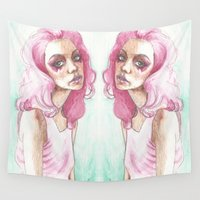 jem Wall Tapestries featuring Jem Is Truly Outrageous by BookOfFaces