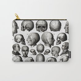 Ratio of Lobes Responsible for the Psychological Type of Person (Phrenology) Carry-All Pouch