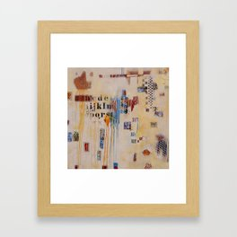 """""""Falling into Place"""" Framed Art Print"""