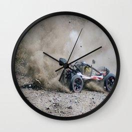 RC Dirt Wall Clock
