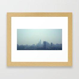 Philly Fog Framed Art Print