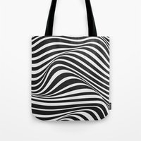 wave Tote Bags featuring Wave by Tracie Andrews