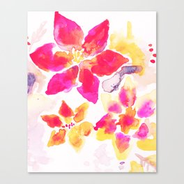 floral punch Canvas Print