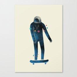 Skate/Space Canvas Print