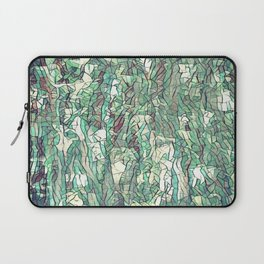 Abstract green Laptop Sleeve