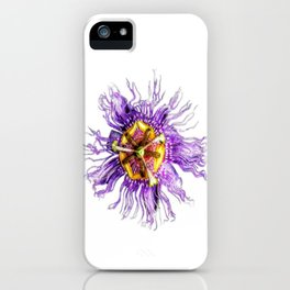 Passiflora incarnata iPhone Case