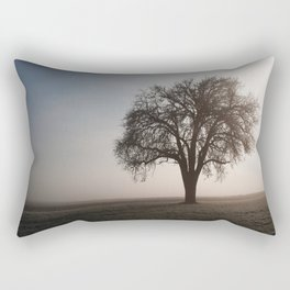 Solitude Frost Rectangular Pillow