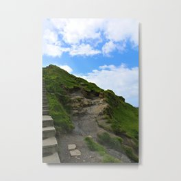 Irish Path to the Sky Metal Print