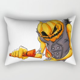 Punk-kin Rectangular Pillow