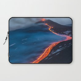 WHEN THE BEACH TURNS RED Laptop Sleeve