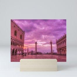 Piazza San Marco and Palazzo Ducale in Venice Mini Art Print
