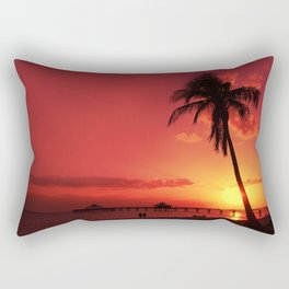Romantic Sunset Rectangular Pillow