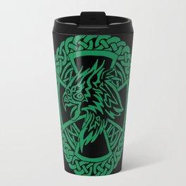 Celtic Hawk Travel Mug