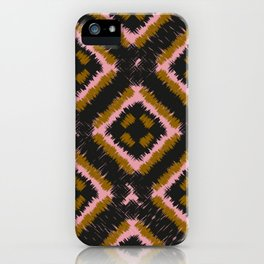 Harlekin Checkers iPhone Case