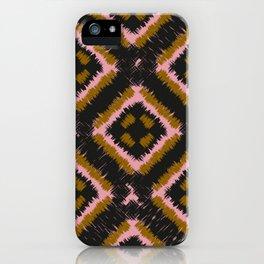Harlekin Checkers iPhone Case