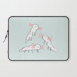 Three Little Axolotls Laptop Sleeve