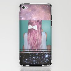 Nebula Girl iPhone & iPod Skin