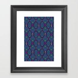 Stella Pattern Framed Art Print