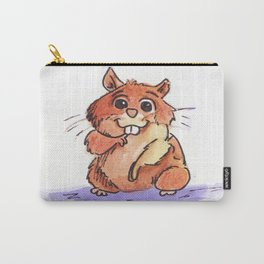 Adorable Hamster Carry-All Pouch