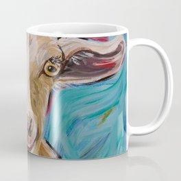 Goat Art, 'Buttercup' Goat Painting Coffee Mug