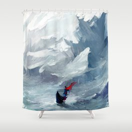 Adventure with you Shower Curtain