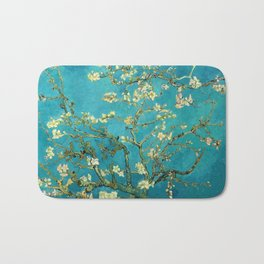 Vincent Van Gogh Blossoming Almond Tree Bath Mat