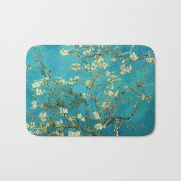 Vincent Van Gogh Blossoming Almond Tree Bath Mat