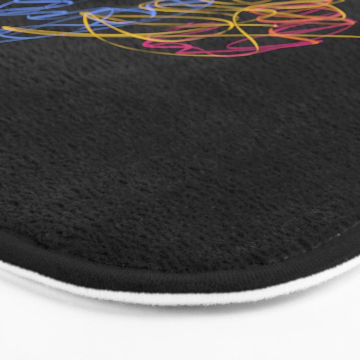 S6 Light-Painted Bath Mat