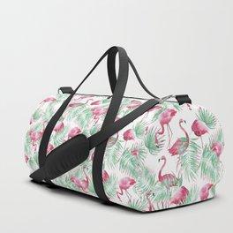 Flamingo Paradise Duffle Bag