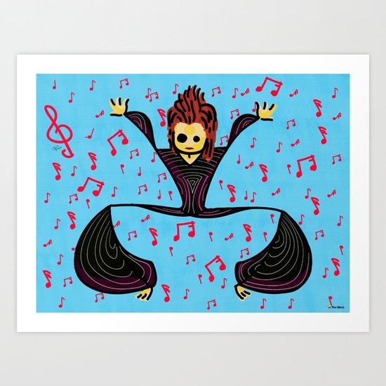 David tribute Art Print