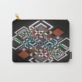textile geometry Carry-All Pouch