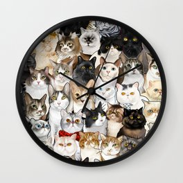 Catmina 2017 - SIX Wall Clock