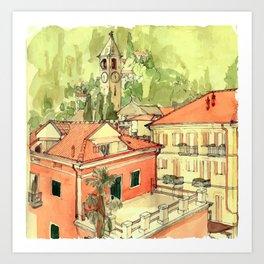 BAVENO Art Print