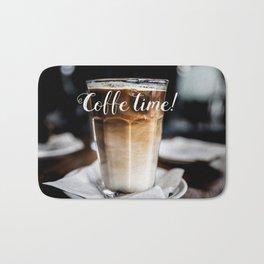 Coffe time! Bath Mat