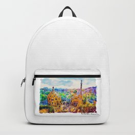 Park Guell Barcelona Backpack