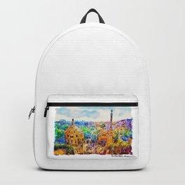 Park Guell Barcelona Backpack