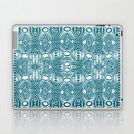 Vintage Polynesian Stamp Print Laptop & iPad Skin