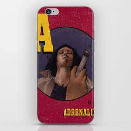 A is for Adrenaline iPhone Skin