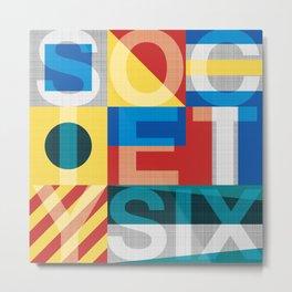 S6 TEE Metal Print