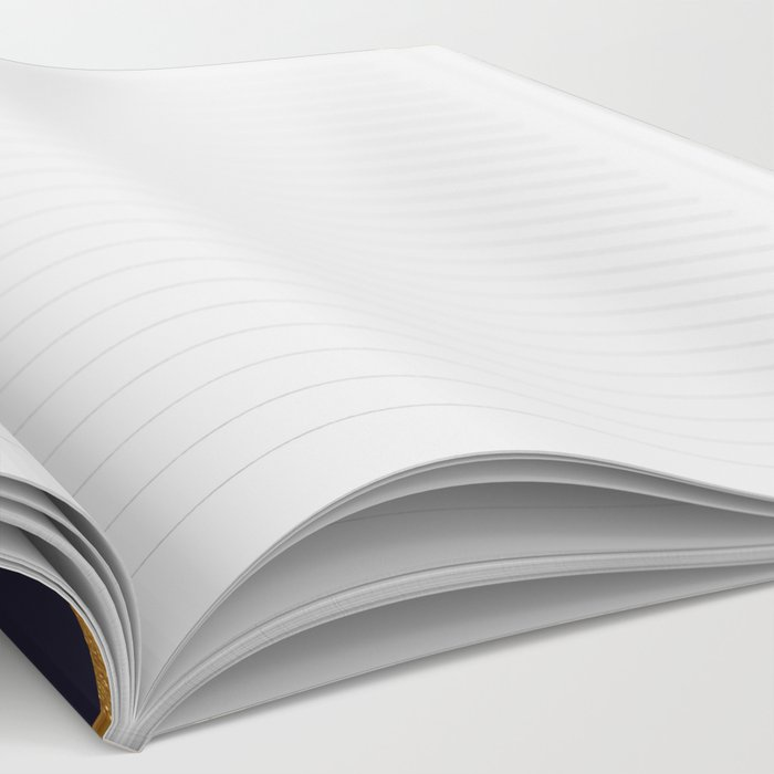Nautical gold shell  Notebook