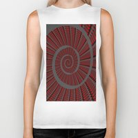 snail Biker Tanks featuring Snail  by LoRo  Art & Pictures