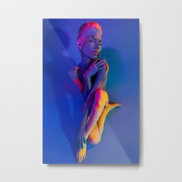 Your Body is Colored by Your Thoughts Metal Print