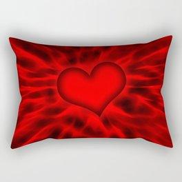Red Heart 11 Rectangular Pillow