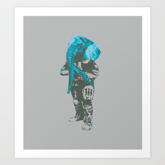 Elefant Art Print