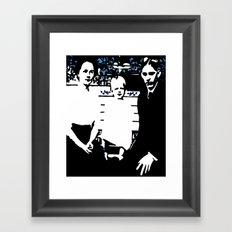 Immigrants Framed Art Print